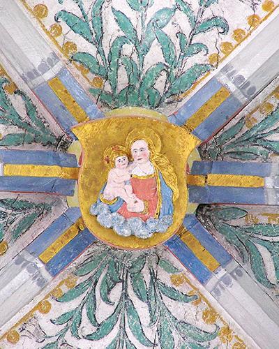 Gewölbestein Maria mit Kind Münster HKT