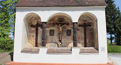 Schächerkapelle rennoviert April 2014 frontal